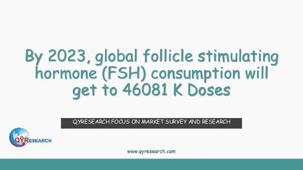 Global follicle stimulating hormone (FSH) market