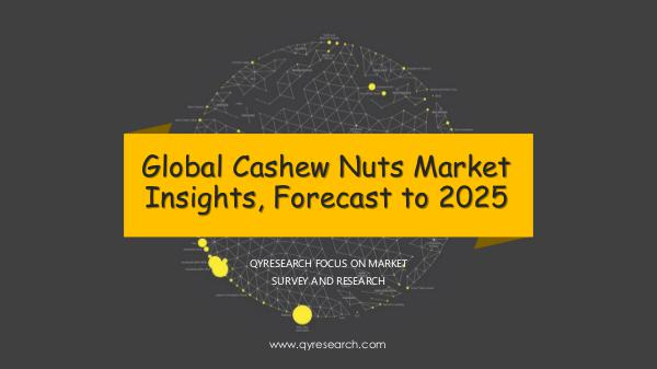 QYR Market Research Global Cashew Nuts Market Research