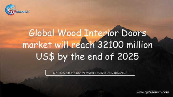 QYR Market Research Global Wood Interior Doors market research
