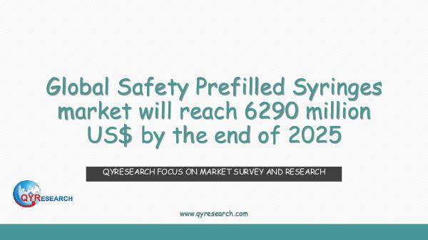 Global Safety Prefilled Syringes market research