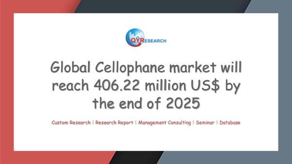 Global Cellophane market research
