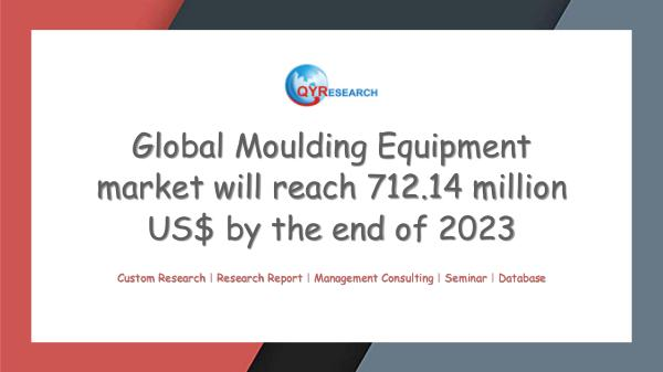 Global Moulding Equipment market research