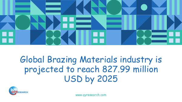 QYR Market Research Global Brazing Materials market research