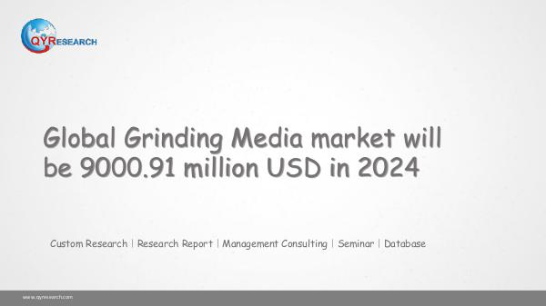 Global Grinding Media market research