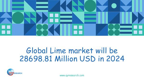 QYR Market Research Global Lime market research