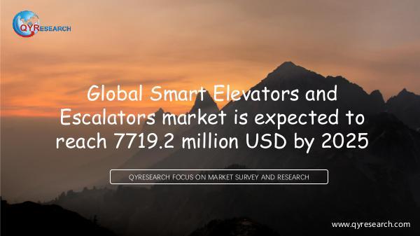 QYR Market Research Global Smart Elevators and Escalators market