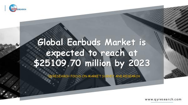 QYR Market Research Global Earbuds Market Research