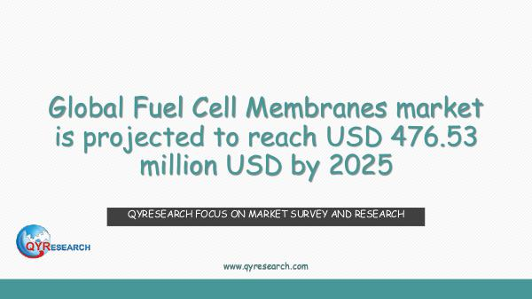 Global Fuel Cell Membranes market research