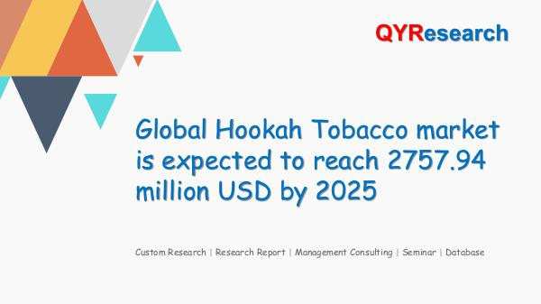 QYR Market Research Global Hookah Tobacco market research