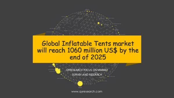 Global Inflatable Tents market research