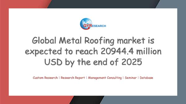Global Metal Roofing market research