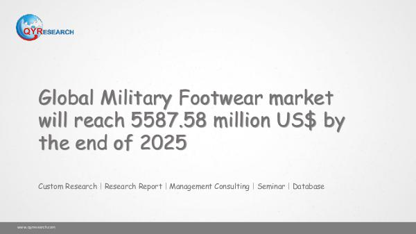 QYR Market Research Global Military Footwear market research