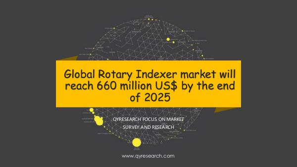 QYR Market Research Global Rotary Indexer market research