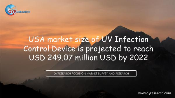 USA UV Infection Control Device market research