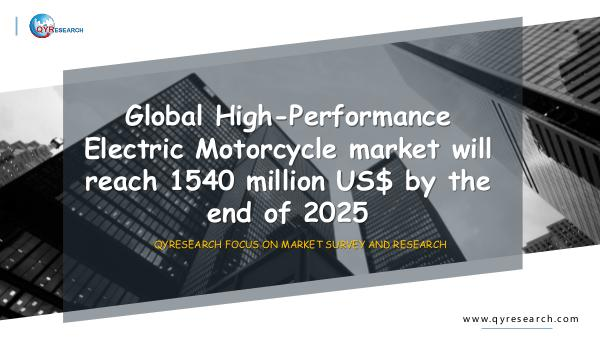 Global High-Performance Electric Motorcycle market