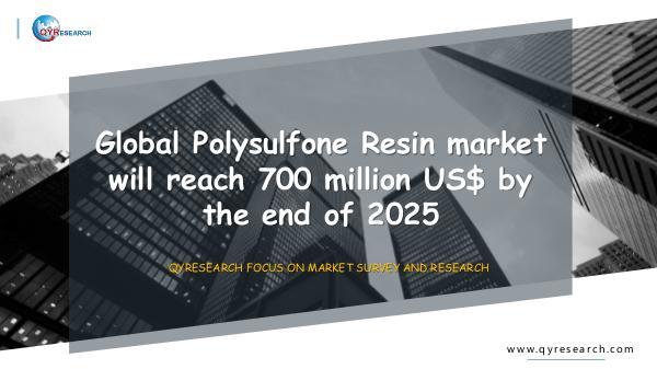 Global Polysulfone Resin market research