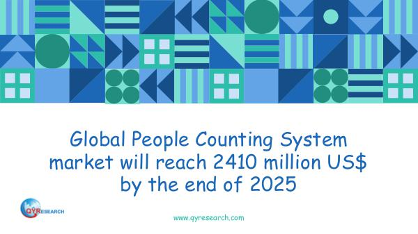 QYR Market Research Global People Counting System market research