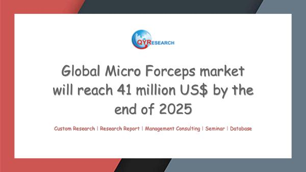 Global Micro Forceps market research