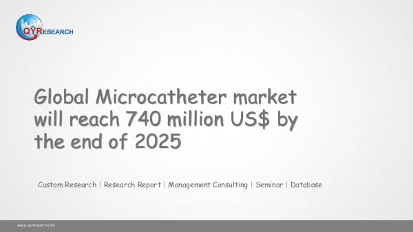 Global Microcatheter market research