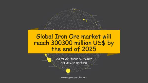 Global Iron Ore market research