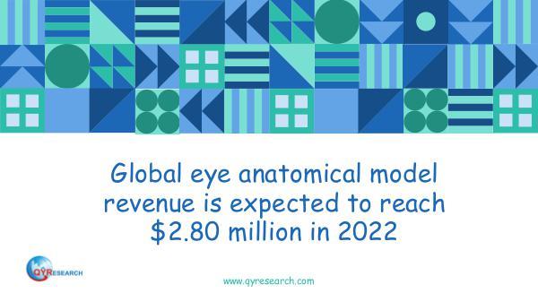 QYR Market Research Global eye anatomical model market research