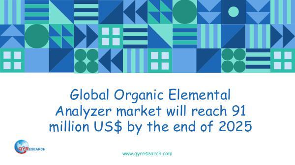 QYR Market Research Global Organic Elemental Analyzer market research