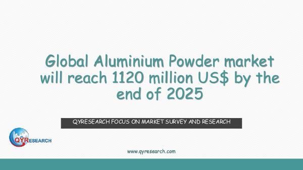 Global Aluminium Powder market research