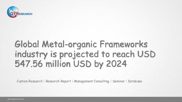 QYR Market Research Global Metal-organic Frameworks market research