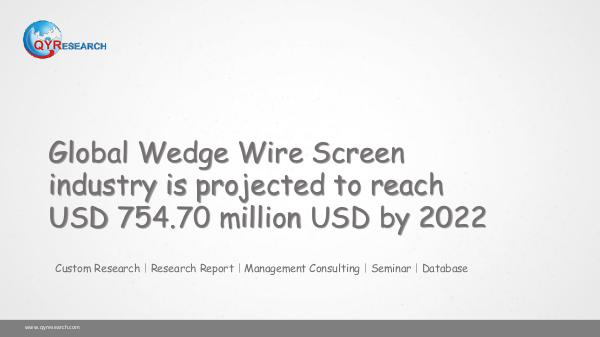 Global Wedge Wire Screen market research