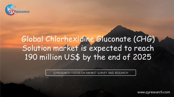 Chlorhexidine Gluconate (CHG) Solution market