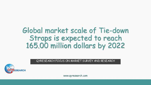 QYR Market Research Global Tie-down Straps market research