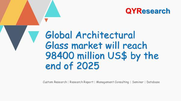 QYR Market Research Global Architectural Glass market research