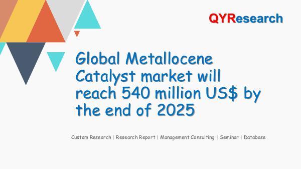 QYR Market Research Global Metallocene Catalyst market research