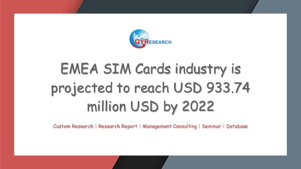 QYR Market Research EMEA SIM Cards industry research