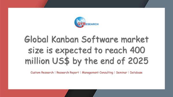QYR Market Research Global Kanban Software market research