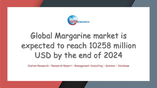 QYR Market Research Global Margarine market research