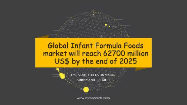 QYR Market Research Global Infant Formula Foods market research