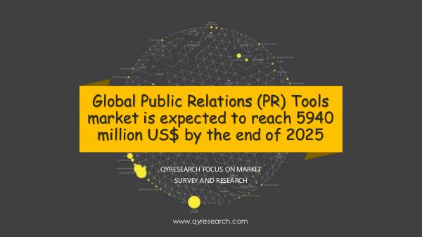 QYR Market Research Global Public Relations (PR) Tools market research