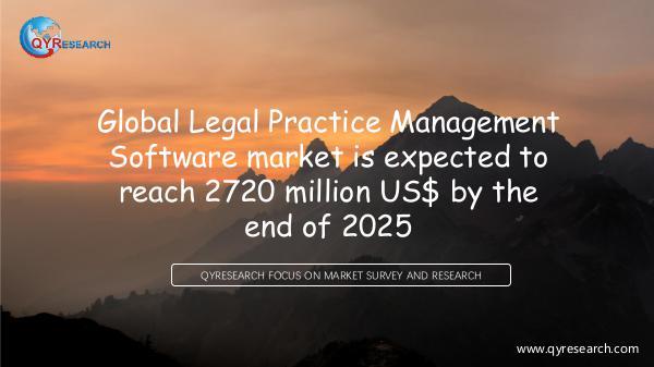 QYR Market Research Global Legal Practice Management Software market