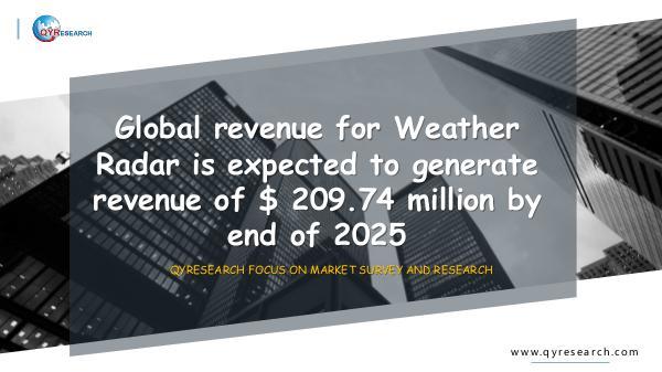 QYR Market Research Global Weather Radar market research