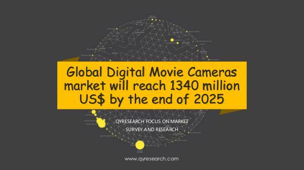 QYR Market Research Global Digital Movie Cameras market research