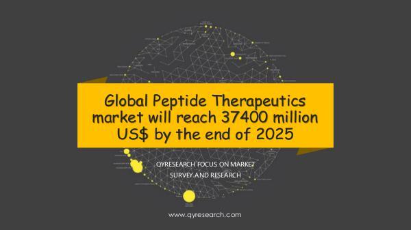 Global Peptide Therapeutics market research