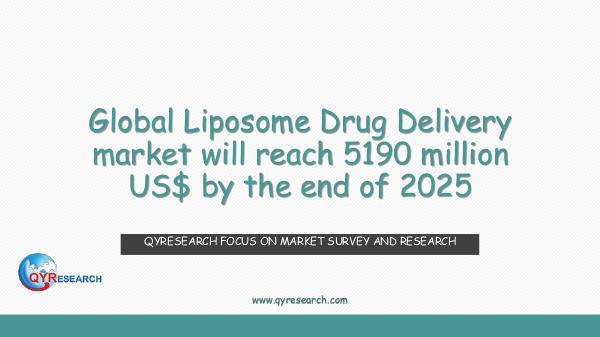 Global Liposome Drug Delivery market research