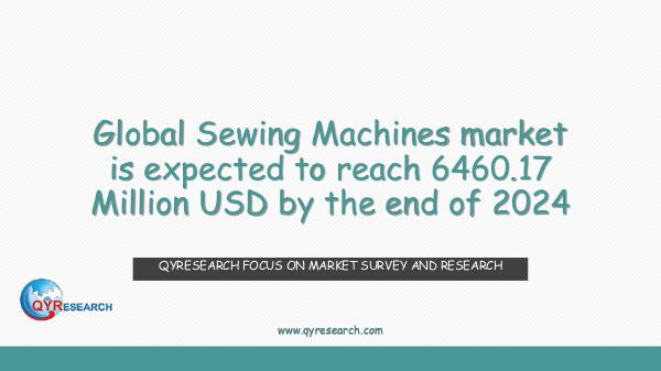 Global Sewing Machines market research