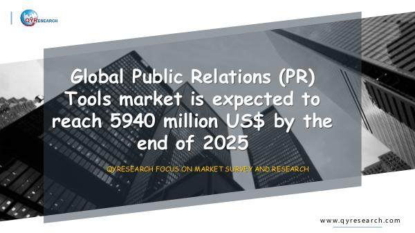 Global Public Relations (PR) Tools market research