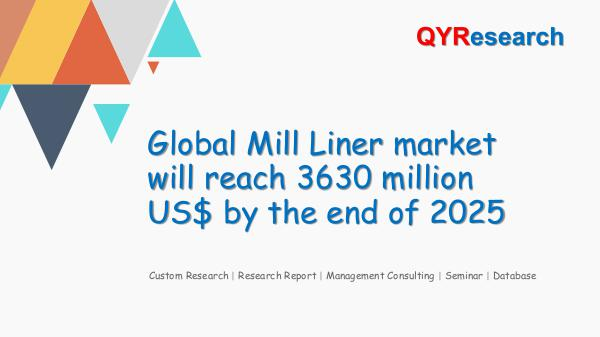QYR Market Research Global Mill Liner market research