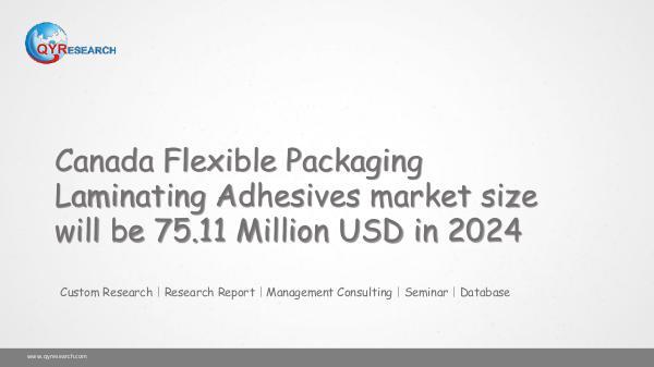 Flexible Packaging Laminating Adhesives marketing