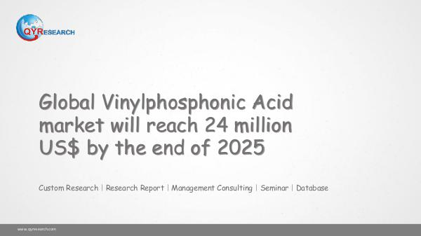 Global Vinylphosphonic Acid market research