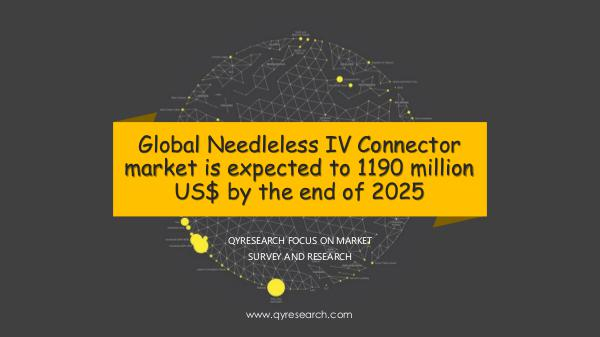 Global Needleless IV Connector market research