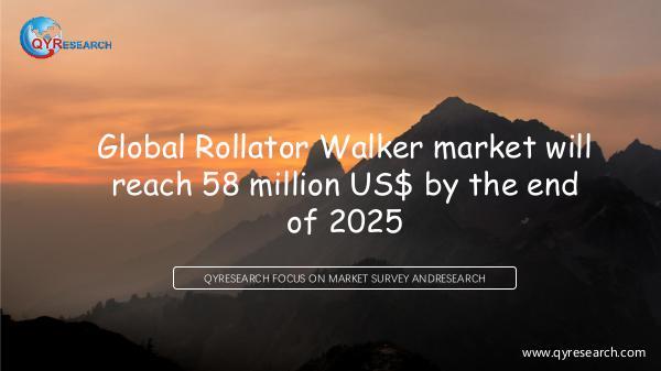 Global Rollator Walker market research
